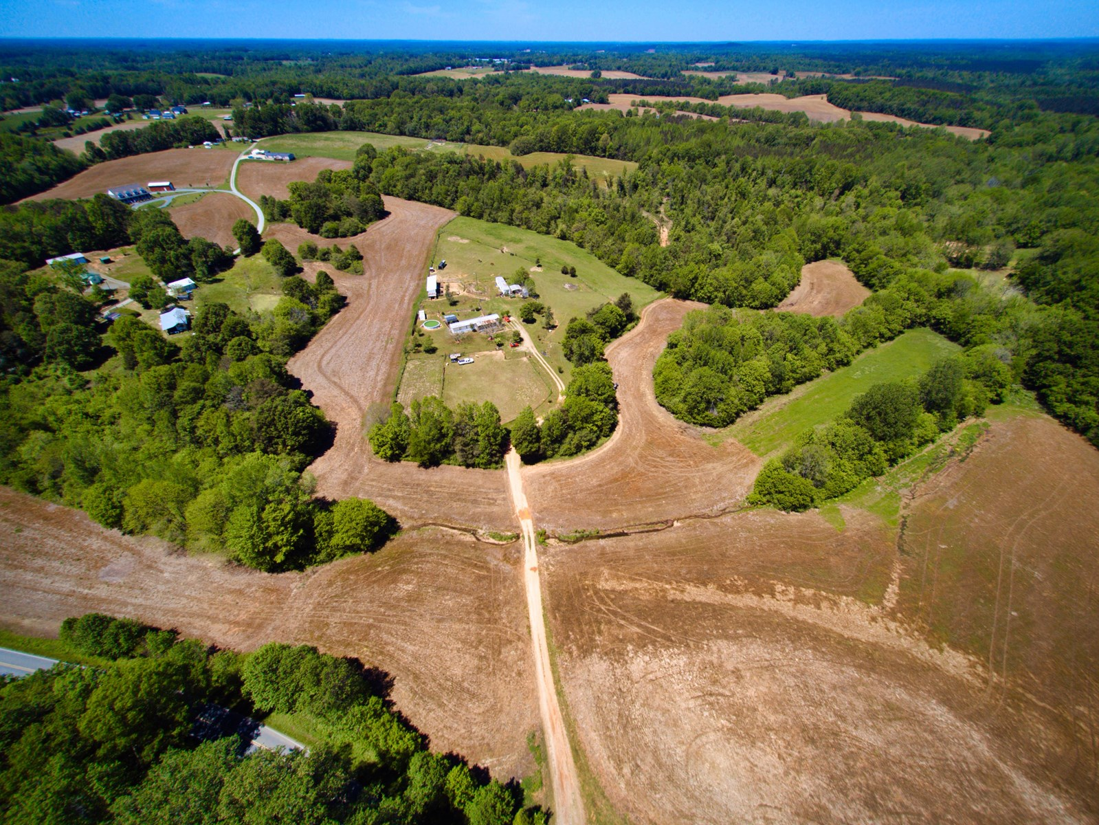 Beautiful Rolling Acreage For Sale in Union County NC