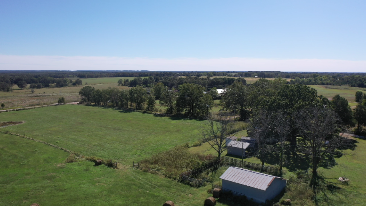 Hobby farm on 36 acres Dora MO w/ lush pasture and fencing!