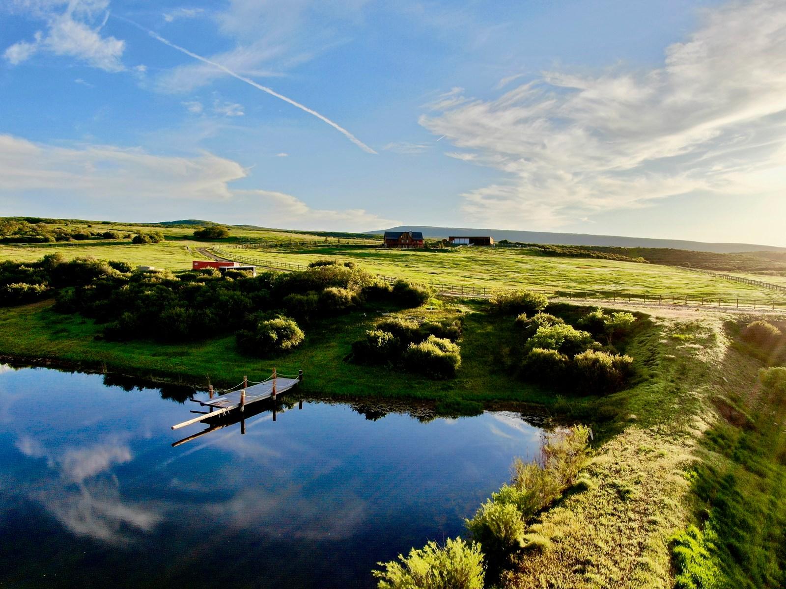 mountain ranch pond