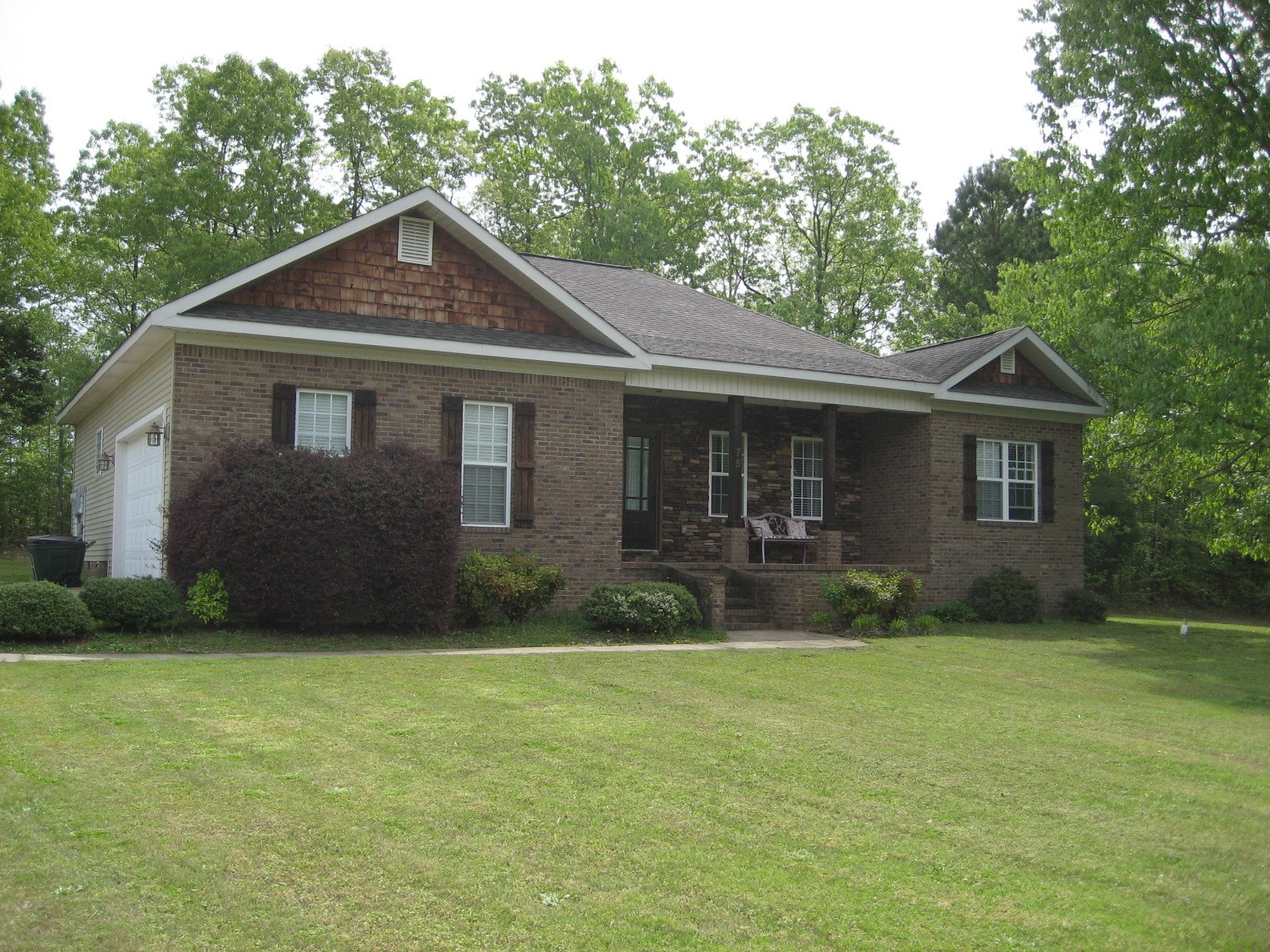 HOME FOR SALE IN ADAMSVILLE TN NEAR SCHOOL, DECK
