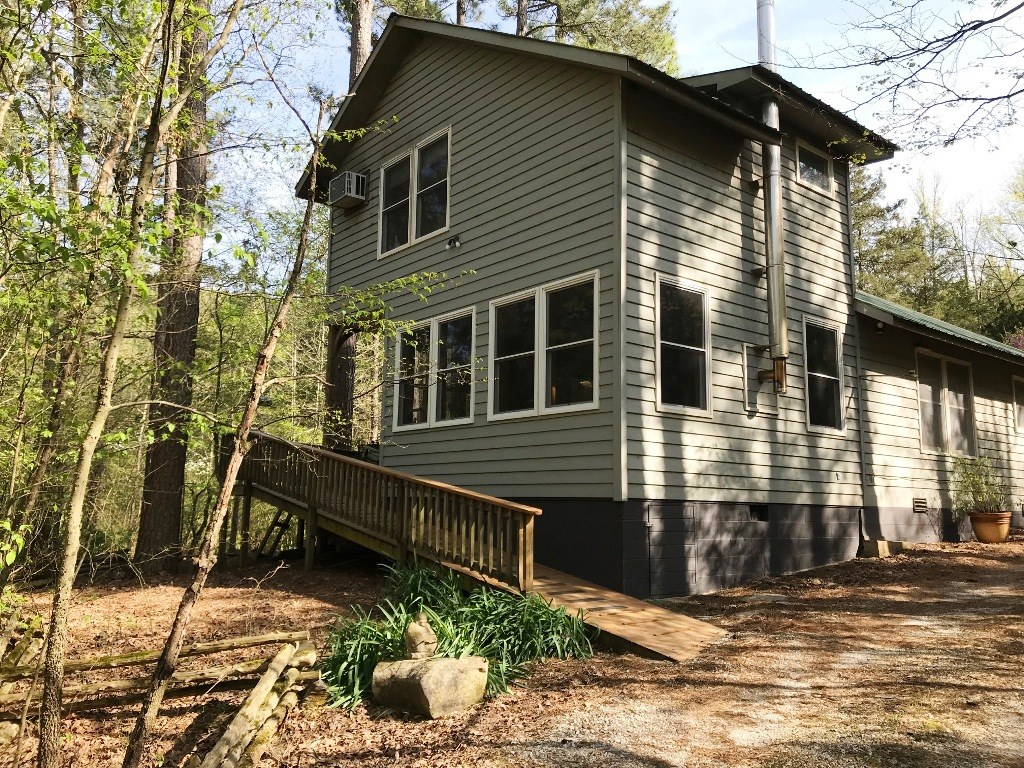 Cabin on 10 +/- Acres Bordering National Forest