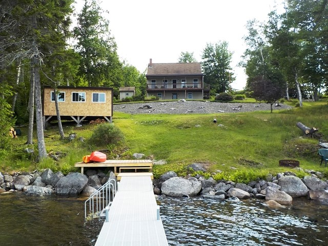 Lakefront Home for Sale in Cathance Twp, Maine