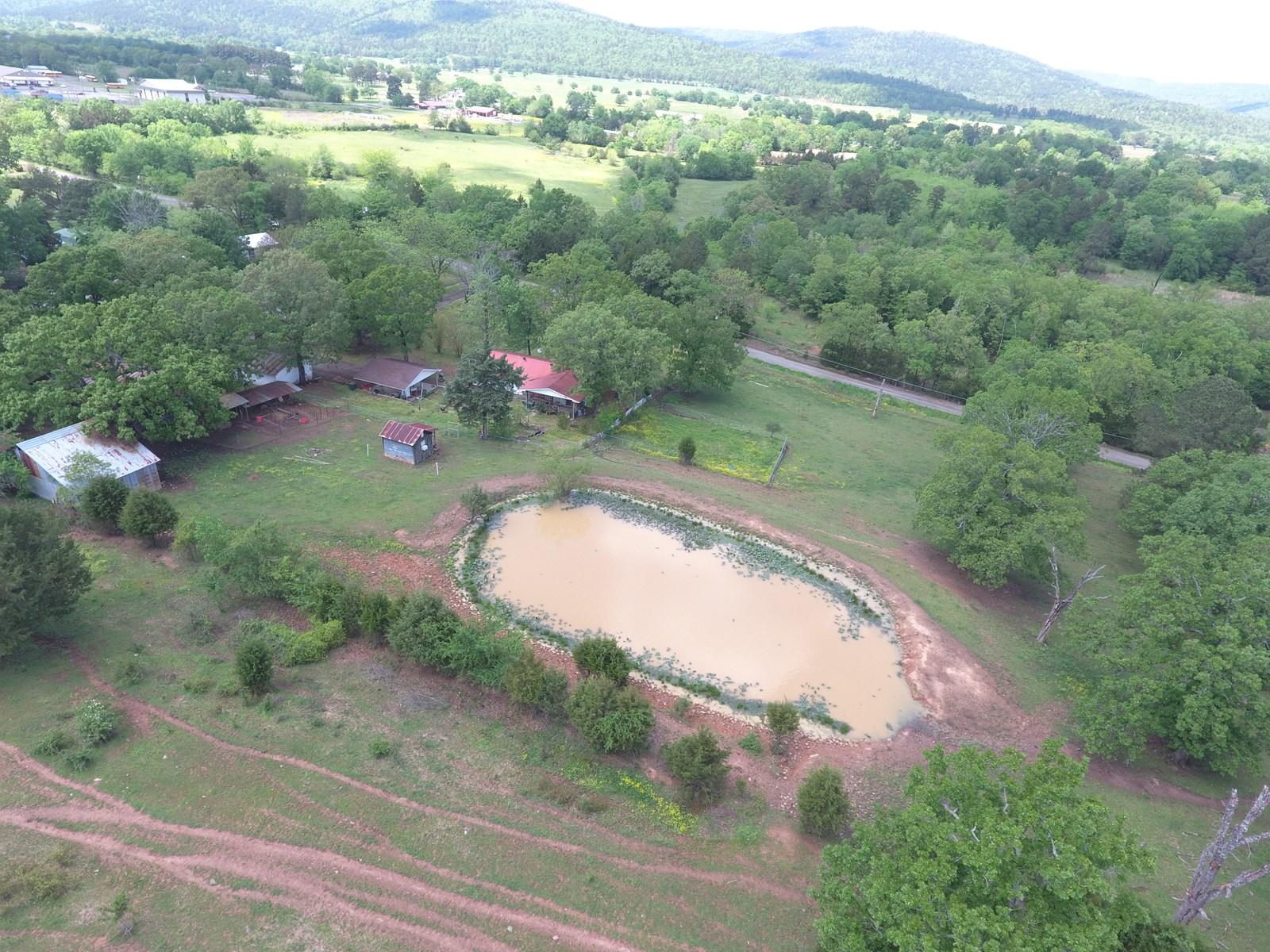 Home and 18 acres SE Oklahoma