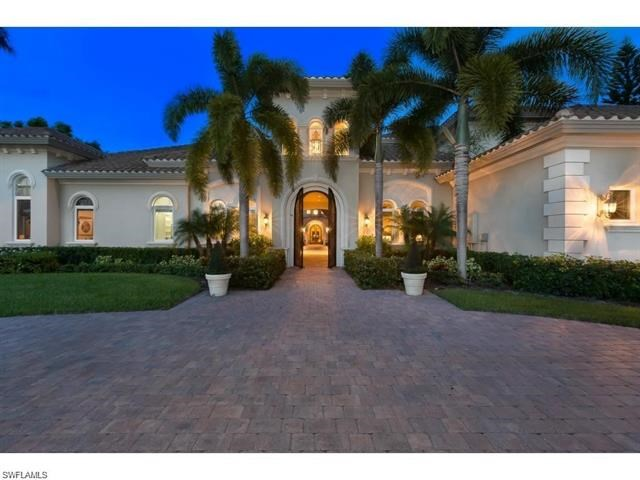 Luxury property for sale in Naples, FL - 6 BR 9.5 BA - pool