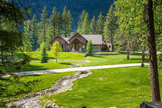 Luxury Home&Log Cabin Kootenai National Forest,Montana