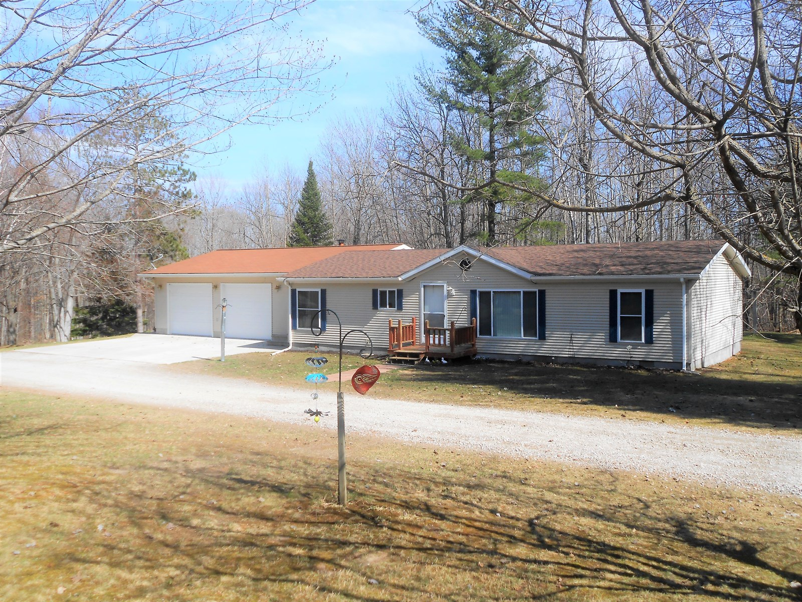 Country Ranch On 10 Hunting Acres for Sale,  Hubbard Lake MI