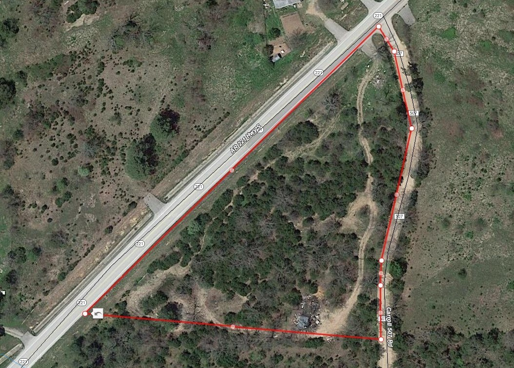 Buildable wooded Land for sale near Berryville & Kings River