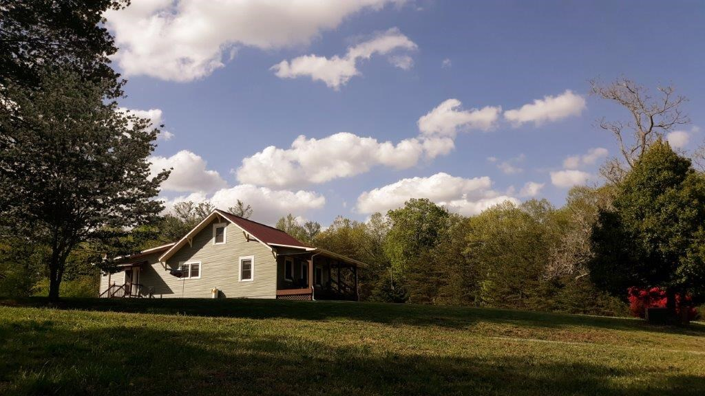 Mini Farm with Completely Renovated Home in Bassett VA