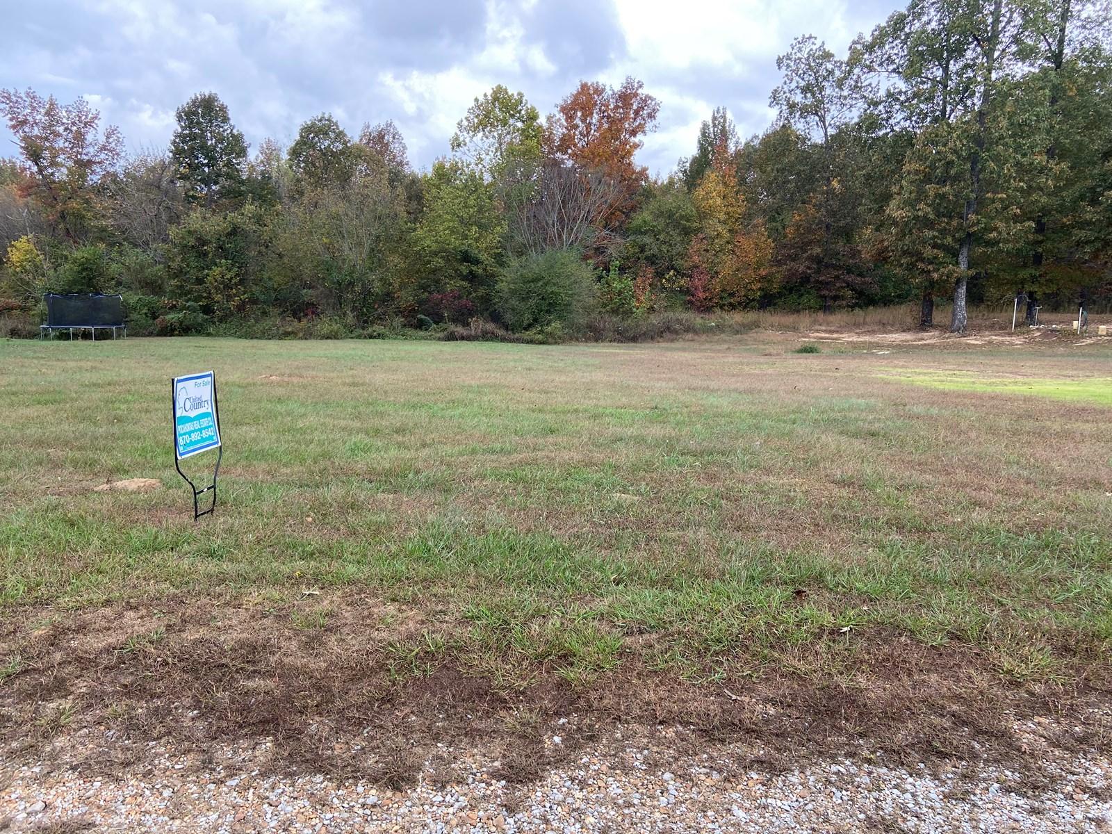 Arkansas land for sale 1 acre, Hwy frontage, Building site