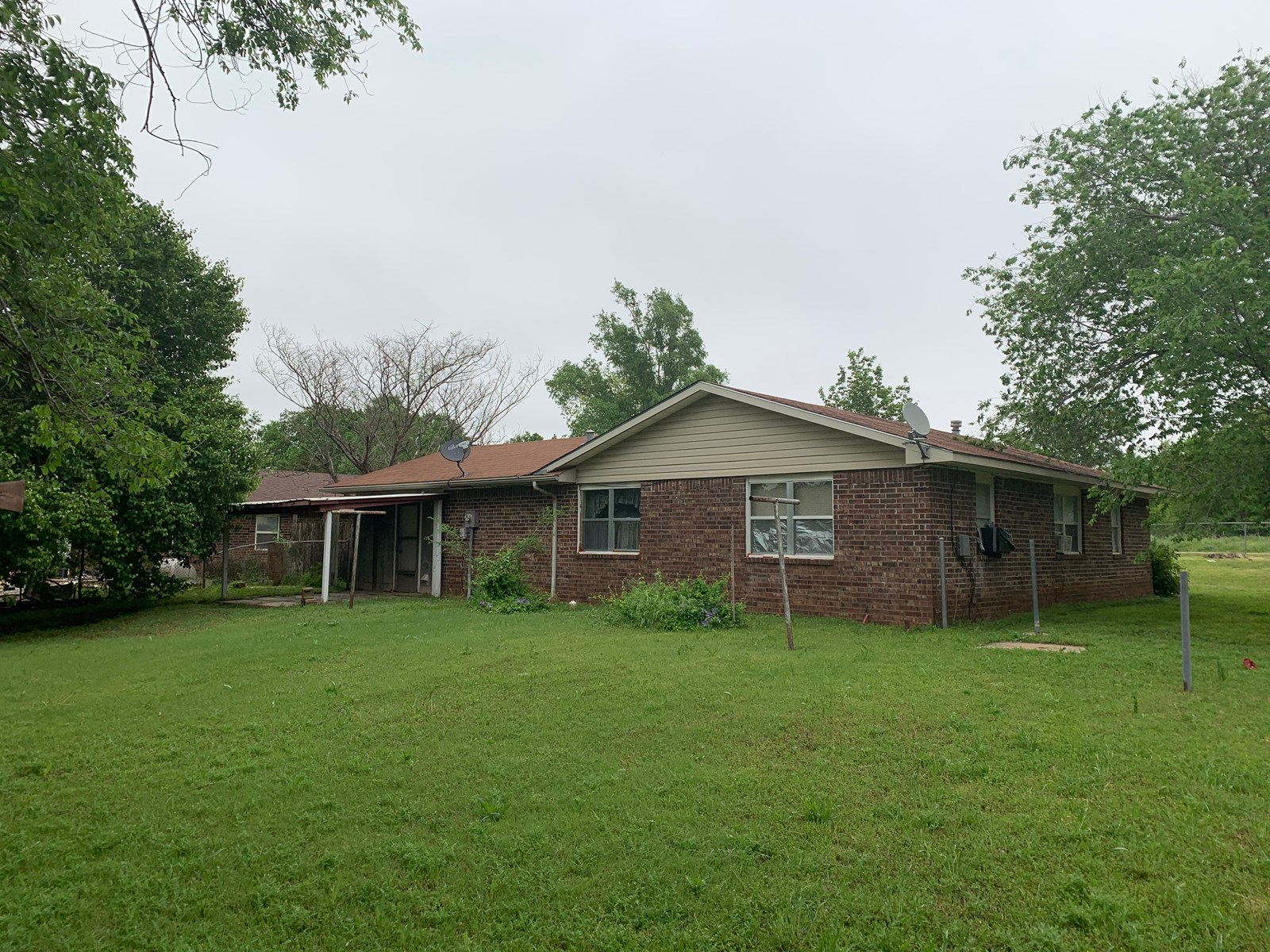 North Central Oklahoma, Marland Rural Home for Sale