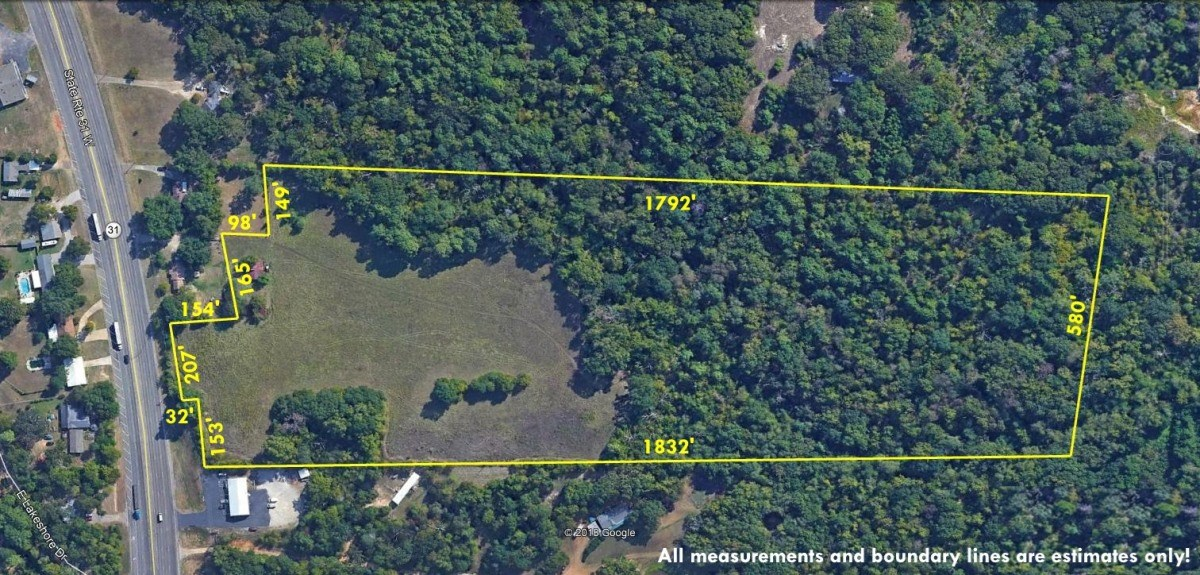 COMMERCIAL ACREAGE FOR SALE IN TYLER TEXAS