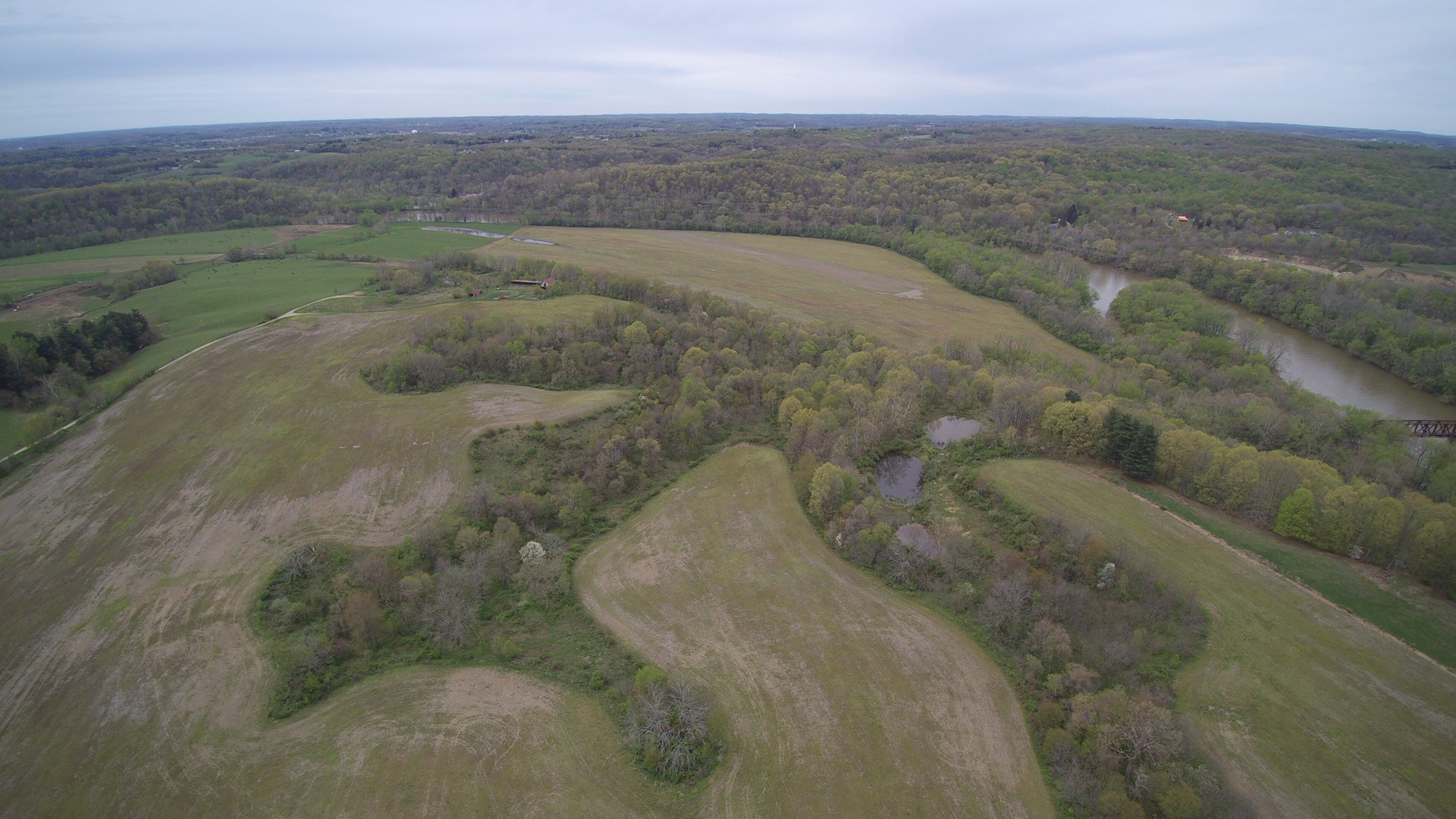 Muskingum River Frontage | Tract 7 A & B | 127 +/- Acres | Sand & Gravel Reserves | Farmland/Tillable