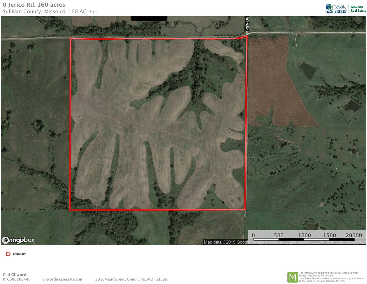 Hay/Pasture farm for sale in Northwest Sullivan Co, Missouri