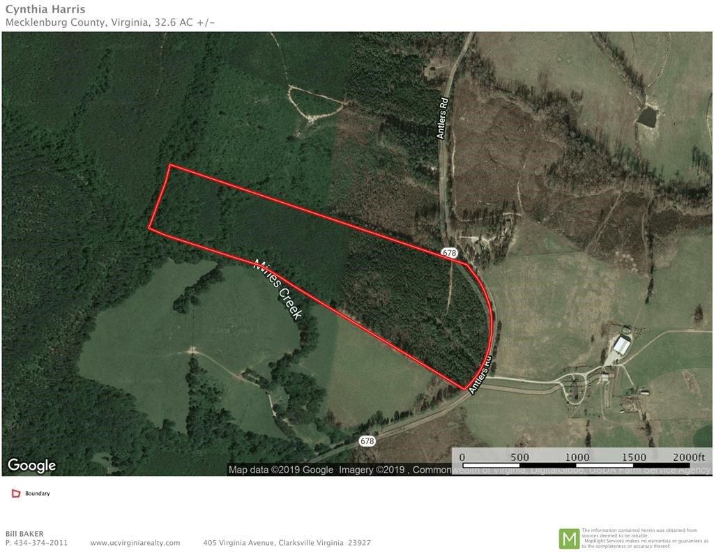 Country Acreage Near Buggs Island Lake, VA