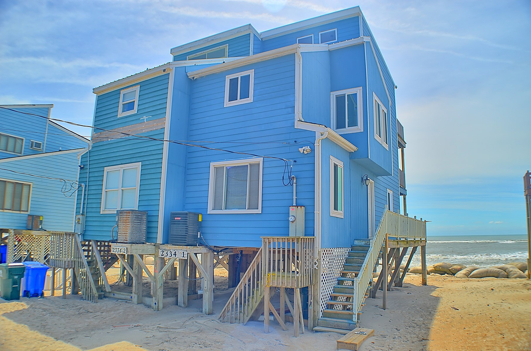 Oceanfront Duplex on North Topsail Beach
