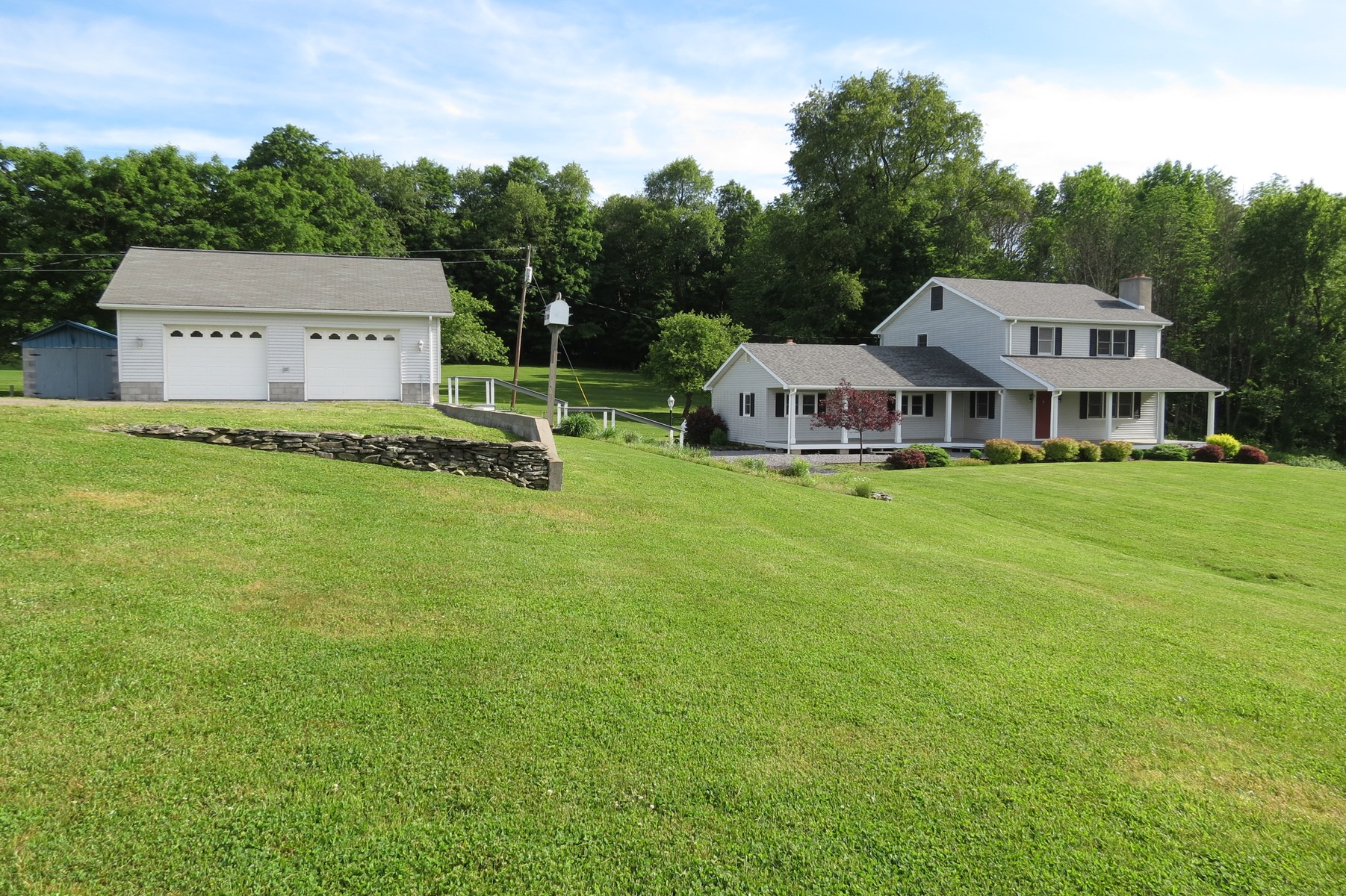 Country Home on 30+ Acres For Sale at Auction Wellsboro, PA