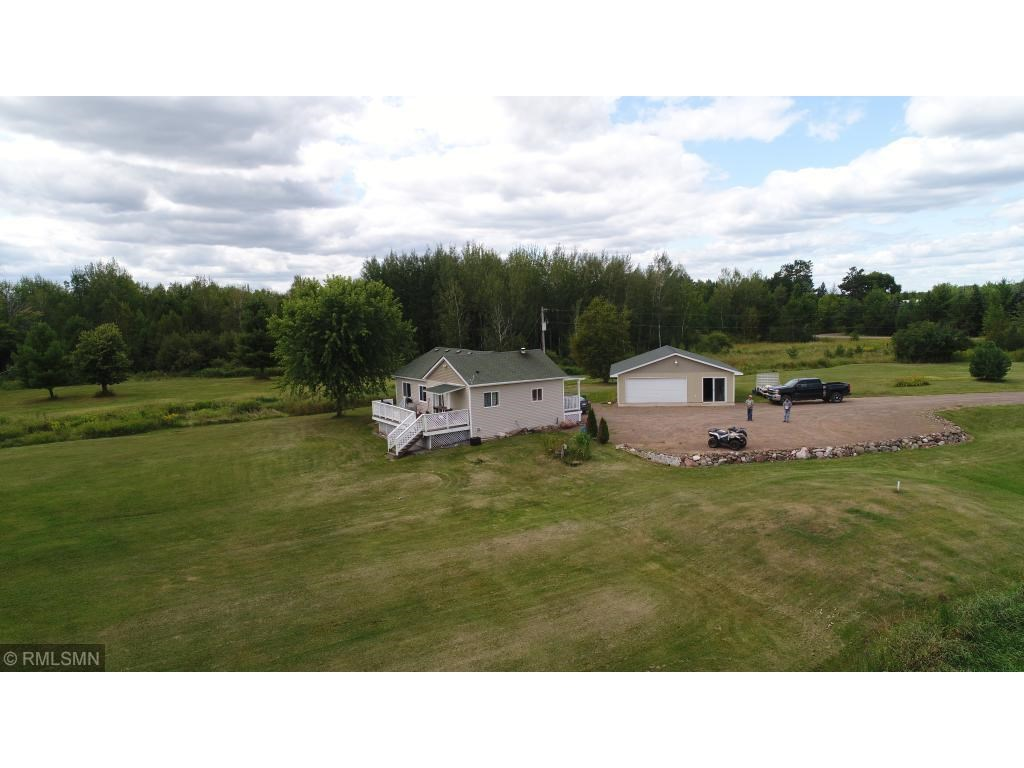 For Sale: Home or Cabin with Acreage and Lake Front, MN