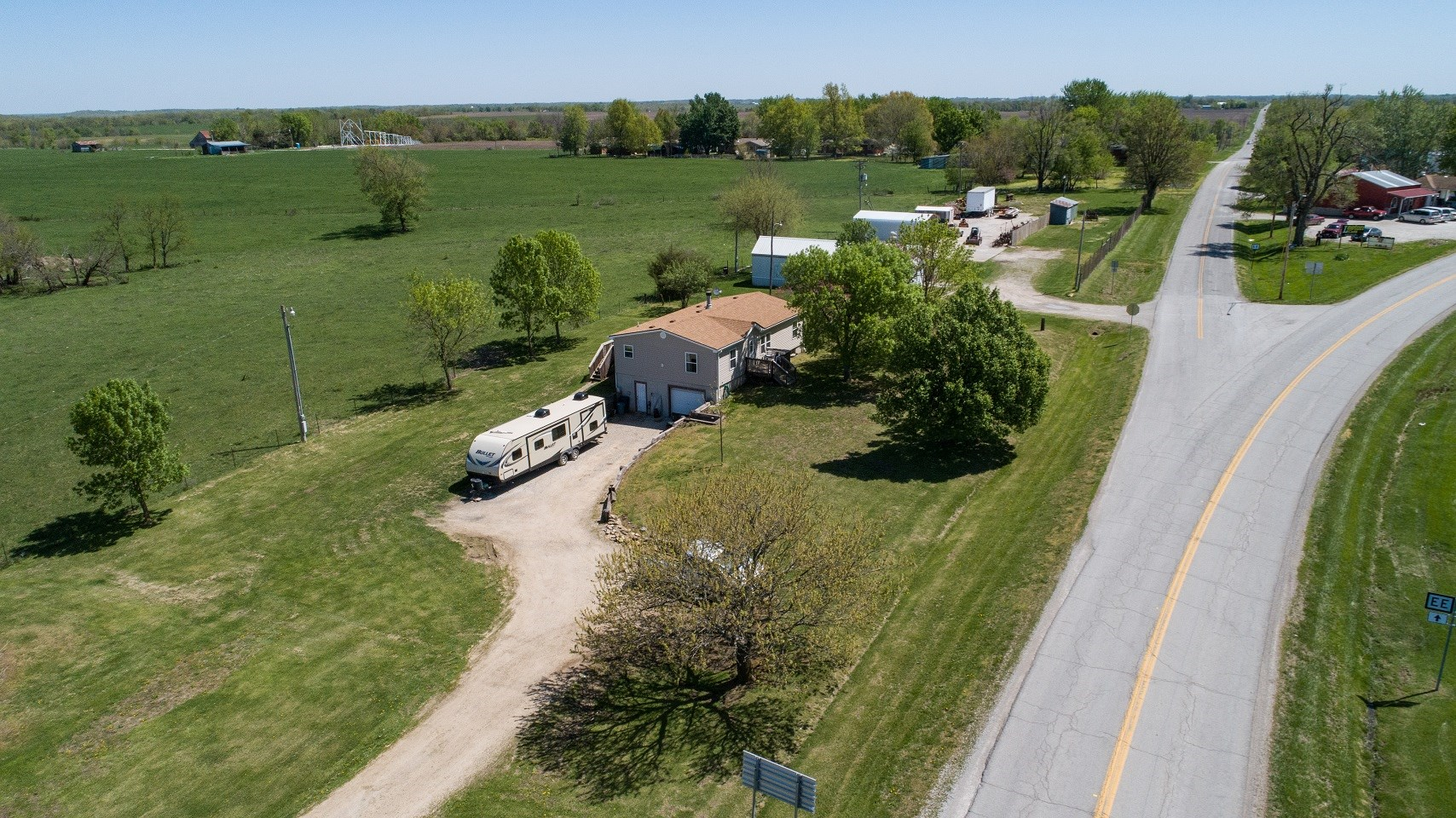 Home with Land For Sale, Leeton, Johnson County, Missouri