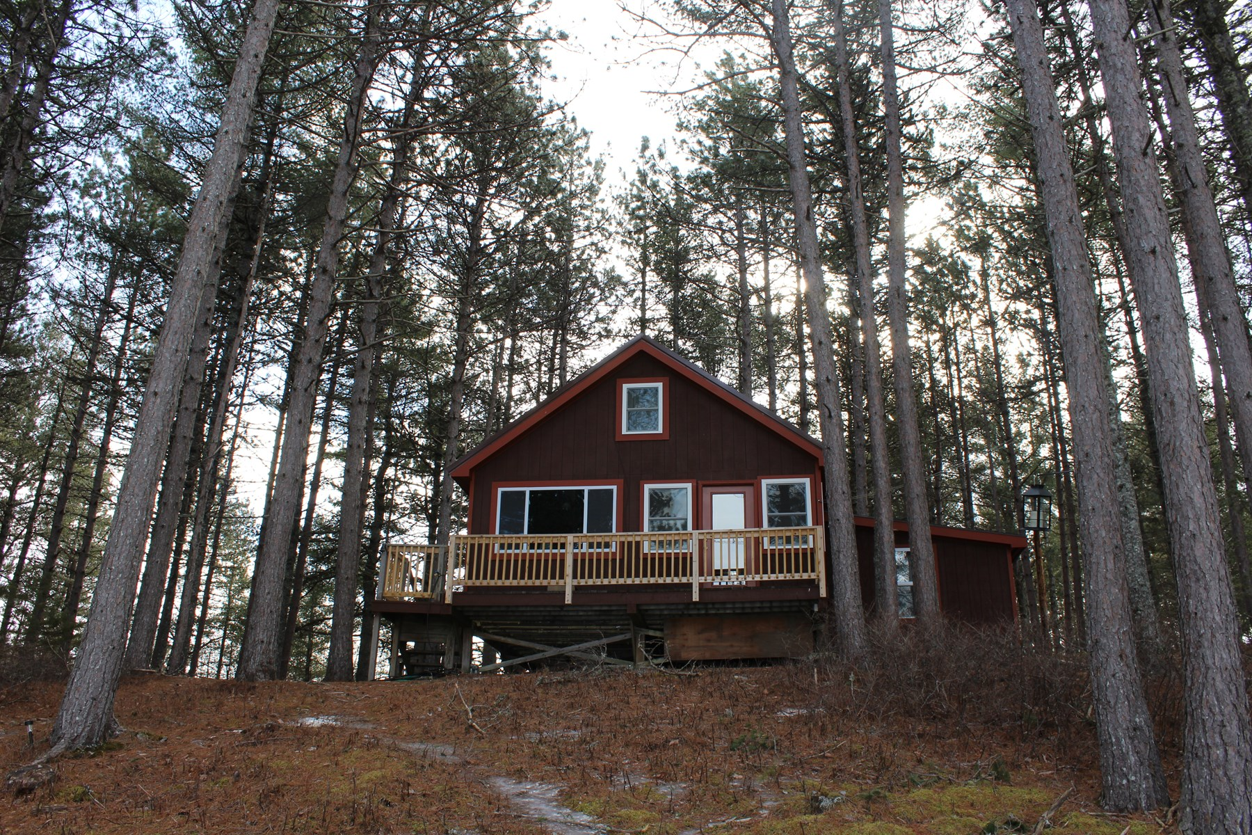 Lakefront Camp for Sale in Wesley, Maine