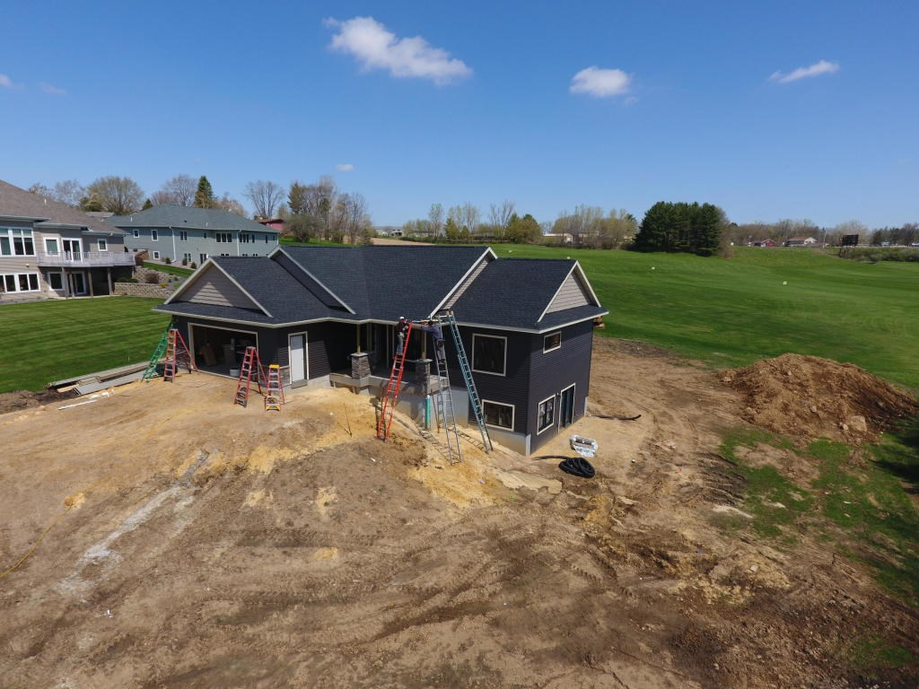 Brand New 3 BR 3 BA home for sale on Golf Course in WI