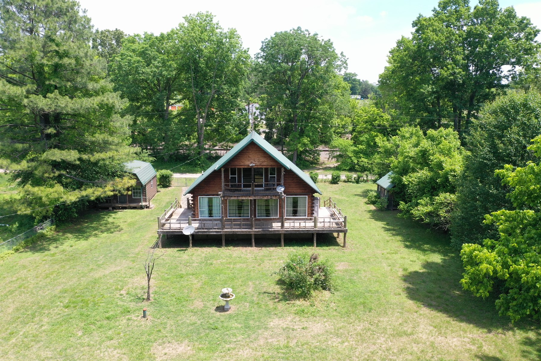 Recreational Cabin on Spring River in Arkansas for Sale
