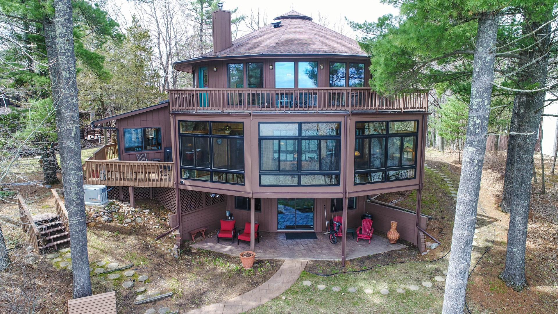 Deltec Home for sale Chain O' Lakes, Round Lake, Waupaca, WI