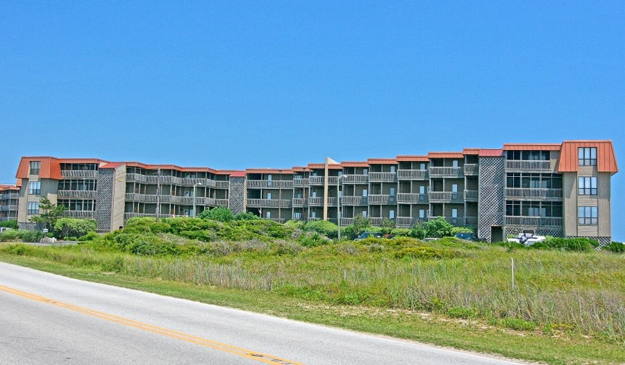 Oceanfront Topsail Dunes Unit for Sale on NTB