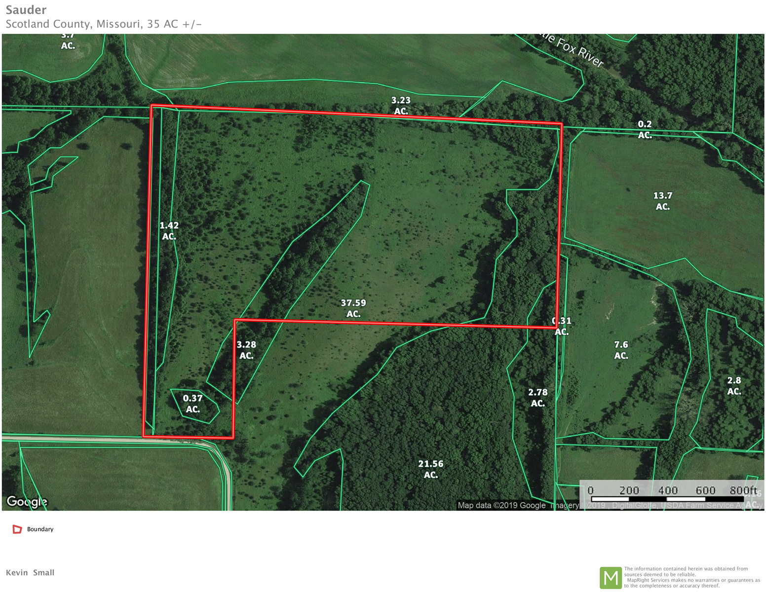 NORTHERN MO RECREATIONAL LAND FOR SALE, SMALL HUNTING TRACT