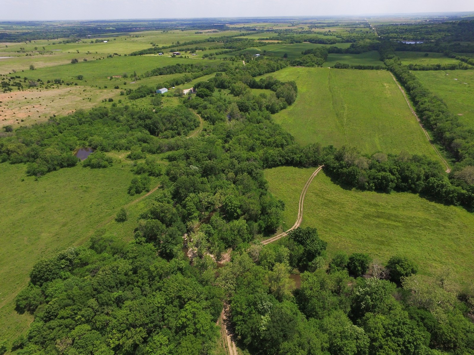 Auction Hunting Land with Live Water in Elk County, KS For Sale