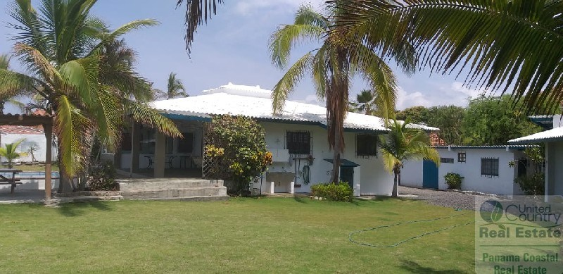 BEAUTIFUL FRONT BEACH LOT AND HOUSE IN PALMAR SAN CARLOS PTY