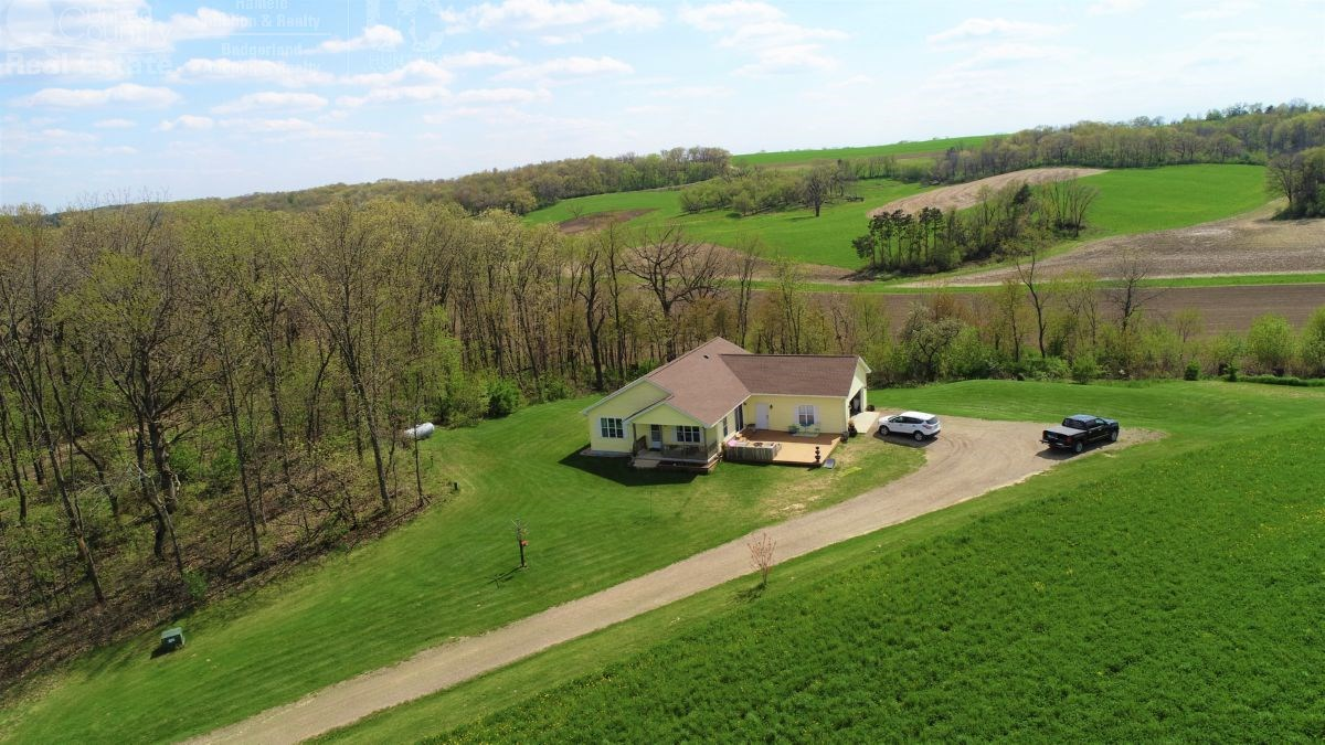 Custom Built Country Home Dane County Wisconsin