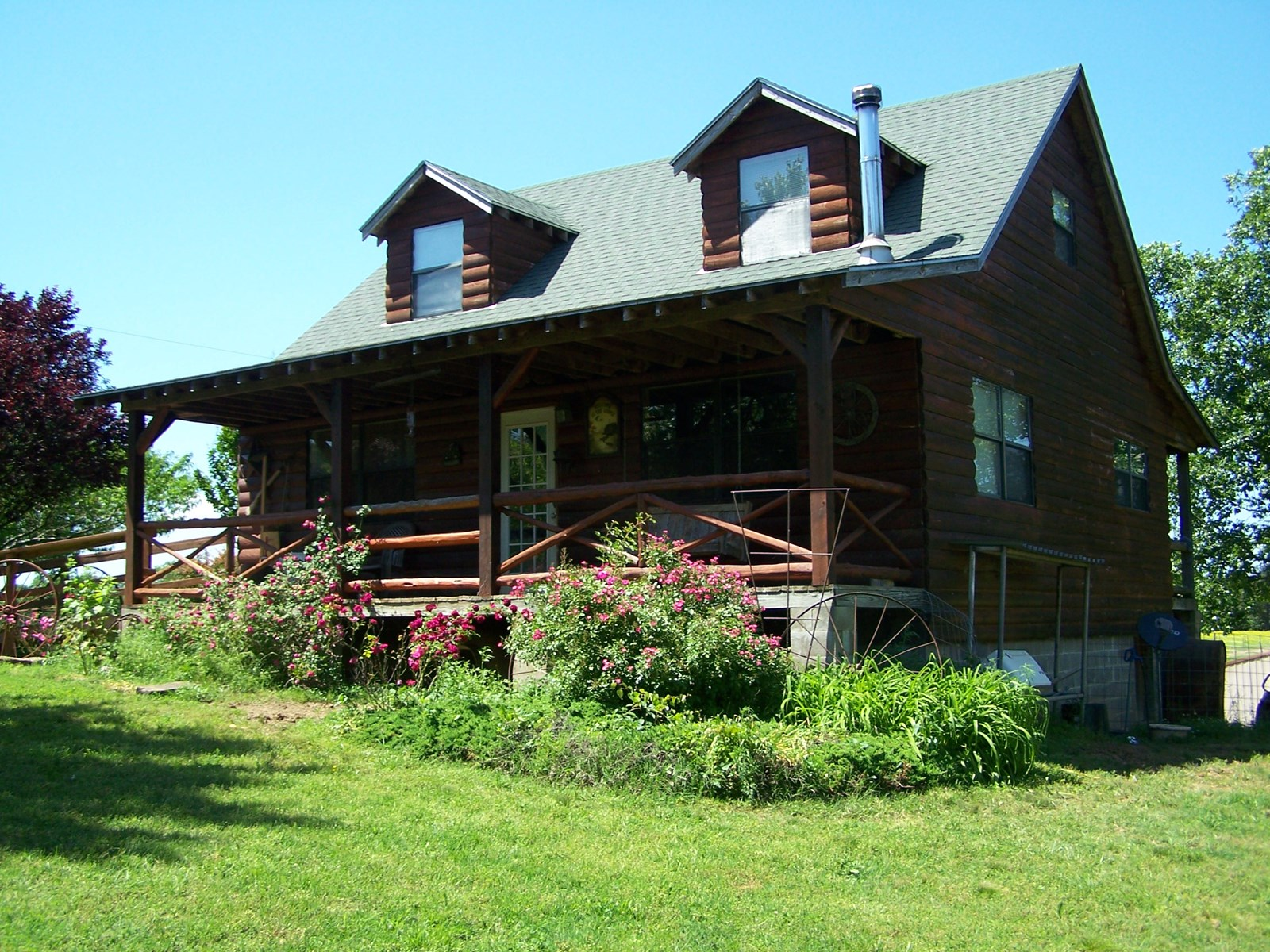 Arkansas Country Cabin on 88.88 Acres For Sale