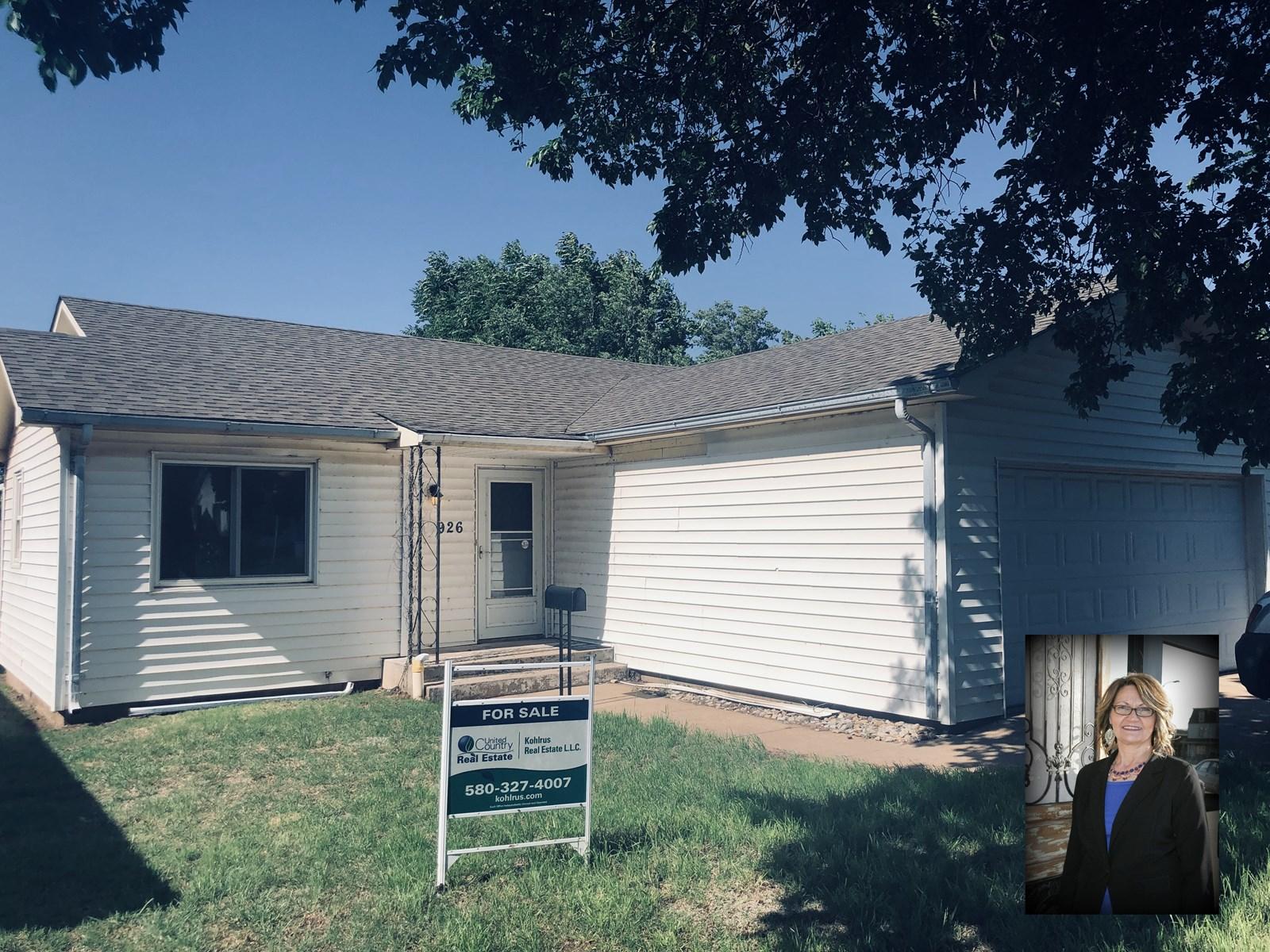 Move In Ready Home For Sale In Alva, OK