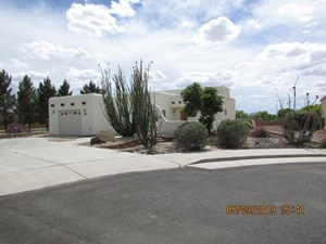 SOUTHWEST STYLE HOME IN A 55+ ACTIVE HOA ADULT COMMUNITY