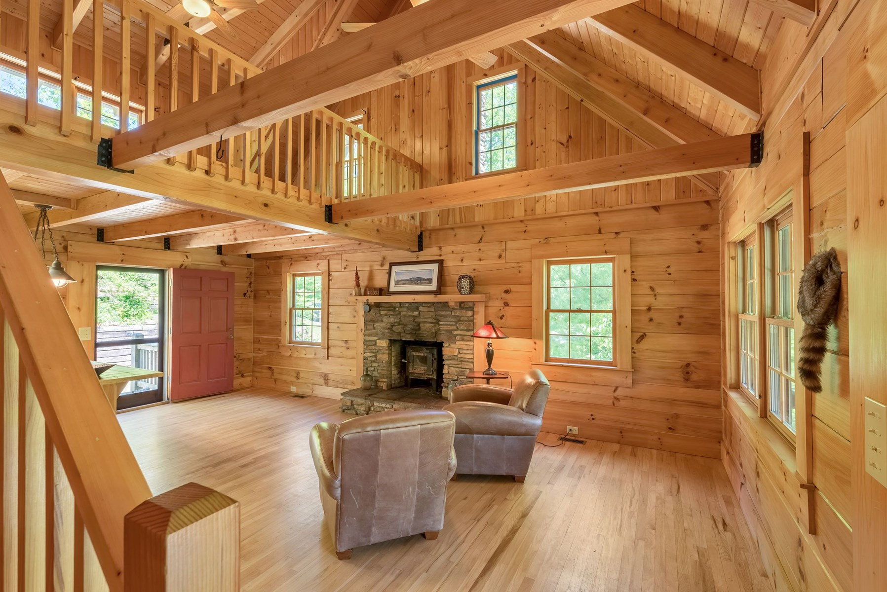 Cabin on Acreage for Sale - Private with Creek and Pond