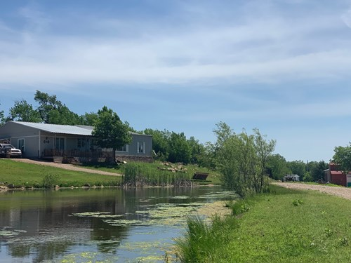 Hobby Farm with Home & Land For Sale in Kay County, OK