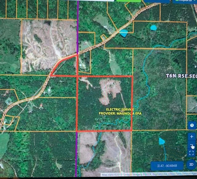 Hunting Property 45 Acres Franklin County McCall Creek MS