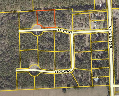 HOMES ONLY SUBDIVISION LOT - Trenton Florida