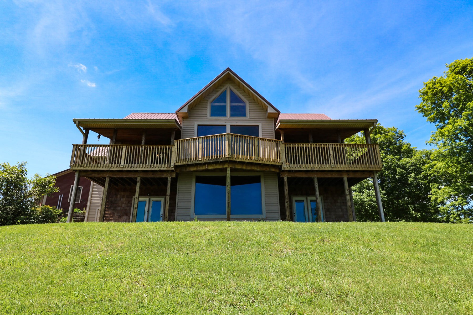 Timber Frame - Country home for sale in Anderson County KY