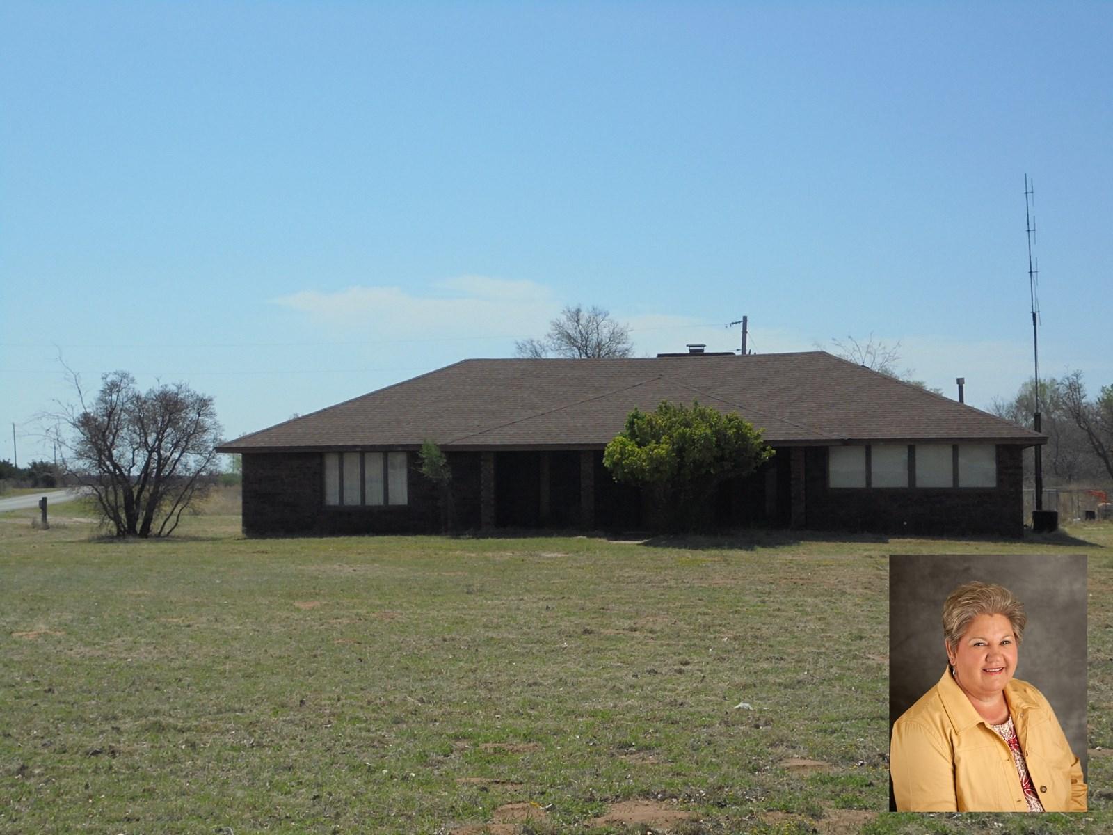Roomy Brick Home with 1.51 Acres