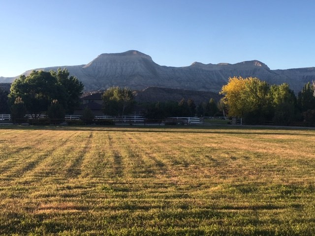 Building Site Land For Sale in DeBeque Colorado Lake Fishing