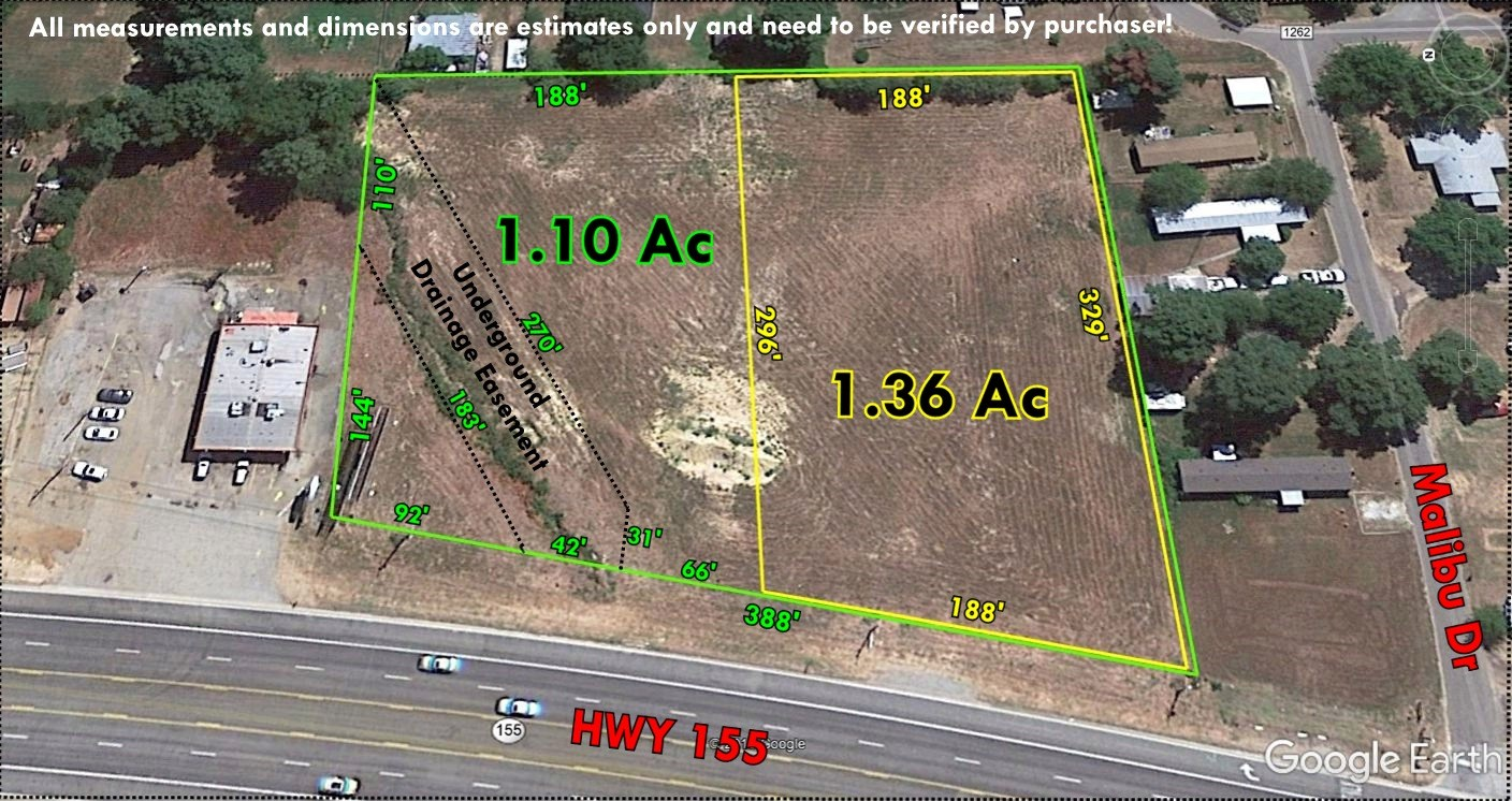 LEVEL COMMERCIAL LOTS WITH HIGHWAY FRONTAGE FOR SALE, FLINT