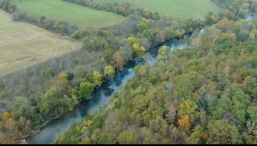 River front property, Prime Hunting in the Missouri Ozarks