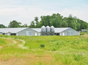 8 HOUSE BROILER POULTRY FARM FOR SALE, LEAKE COUNTY, MS