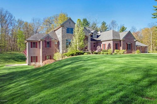 Private Custom Country Home on  28 Acres - Plainwell