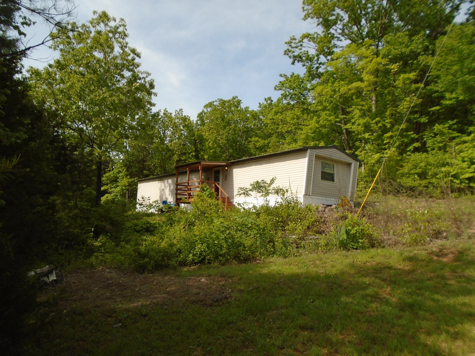Mobile home on 14 mostly wooded acres in Iron County