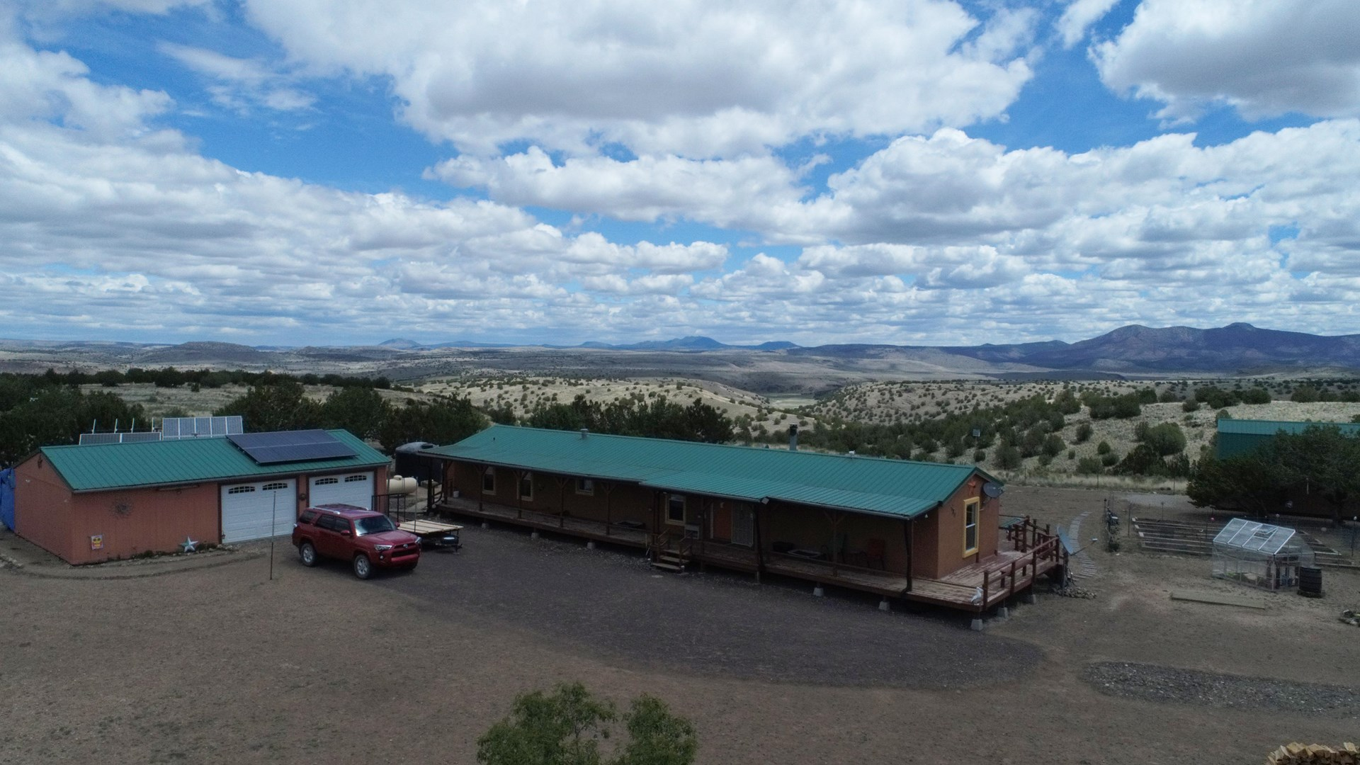 Seligman Home, Private Well, 26 Acres Bordering Public Land