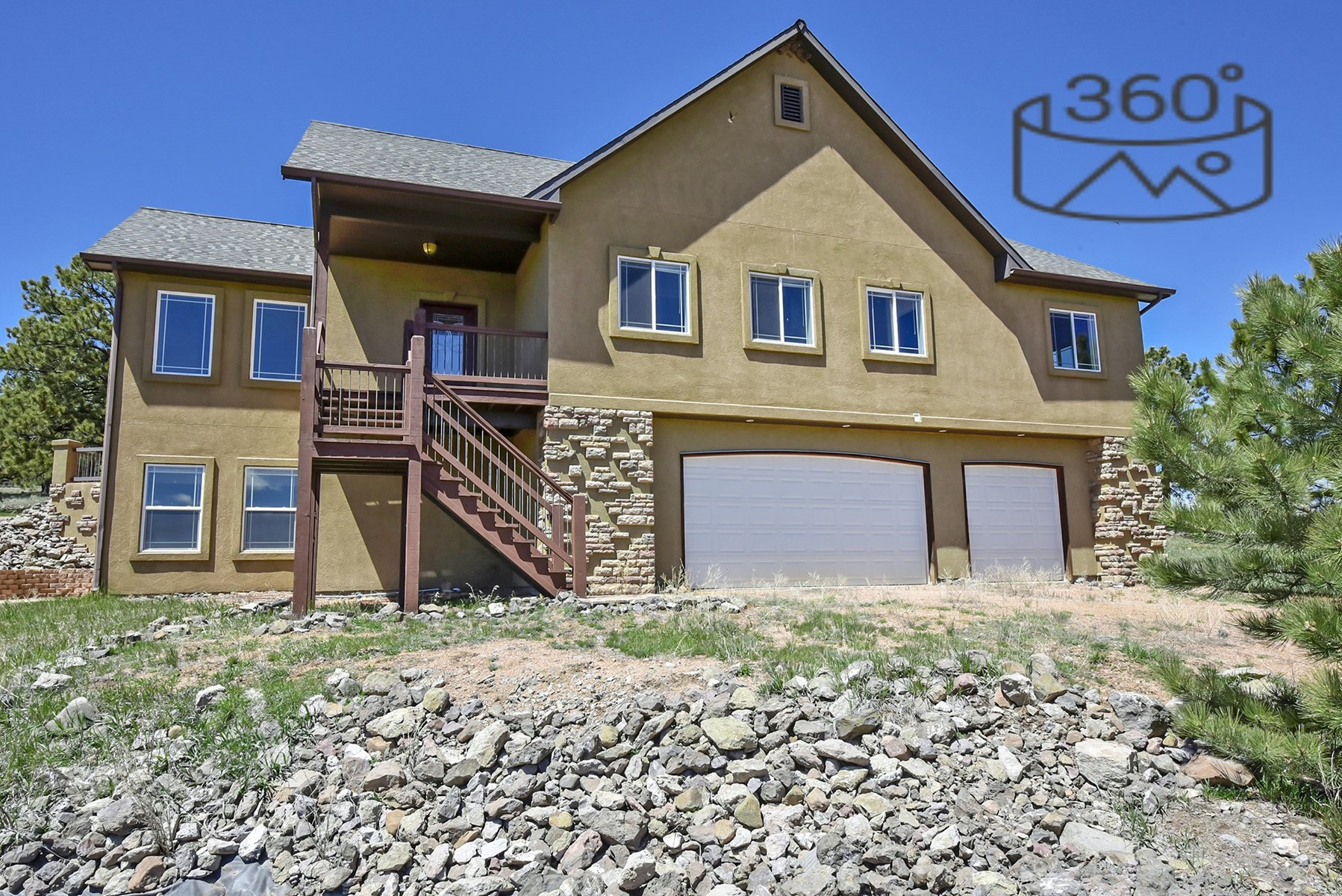 Central Colorado Custom Home on 35 acres in Florissant, CO