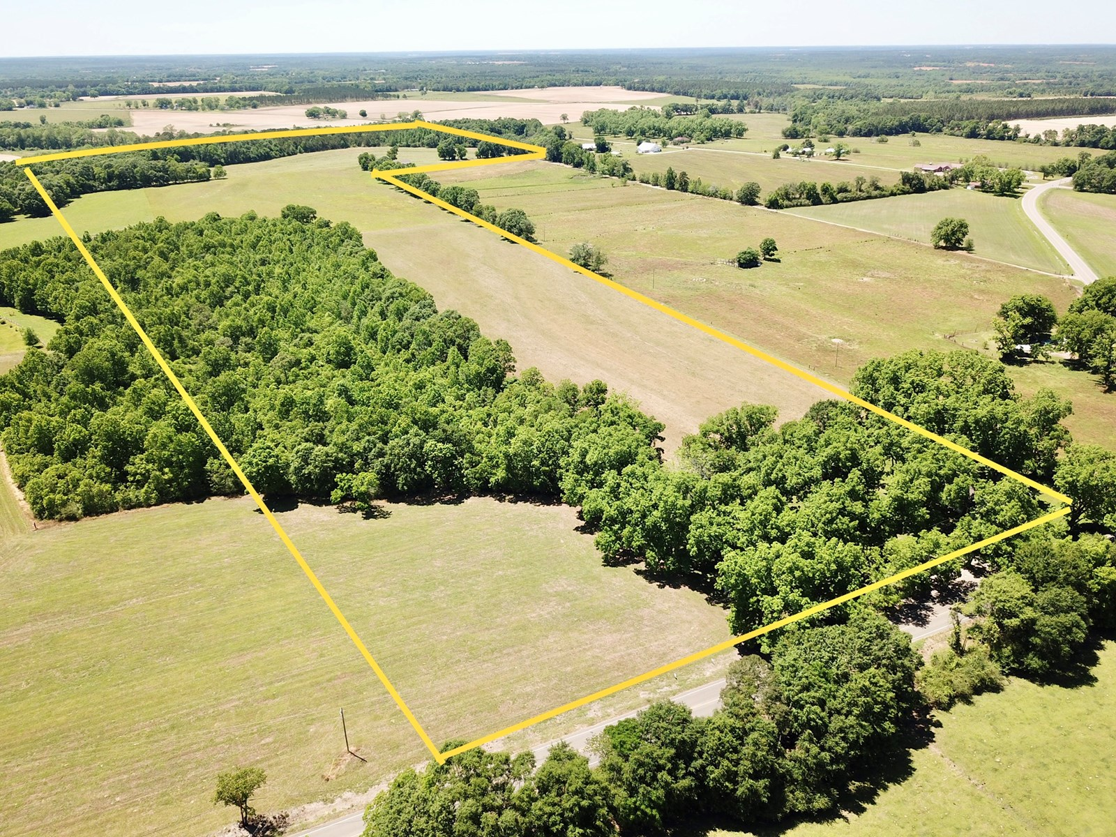 72+/- Acres Slocomb AL Pasture Land - Geneva County Farm