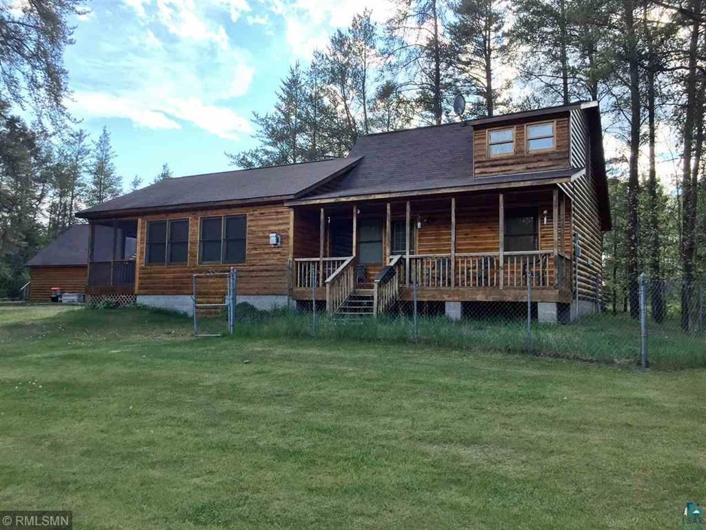 Year-Round River Front Log Cabin / Log Home, Northern MN